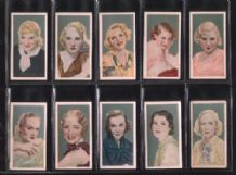 Tobacco Cigarette cards Film Favourites set 1934